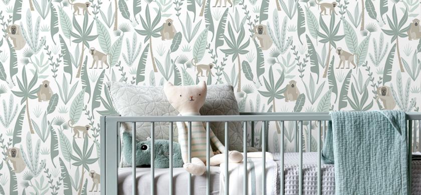 Babyzimmer Tapeten