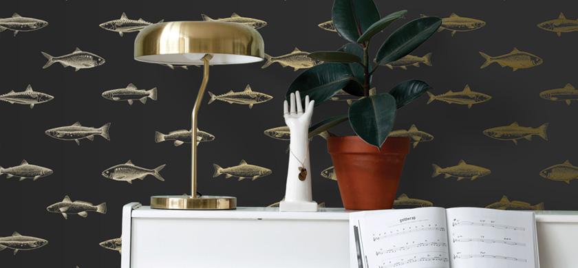 Fisch Tapeten
