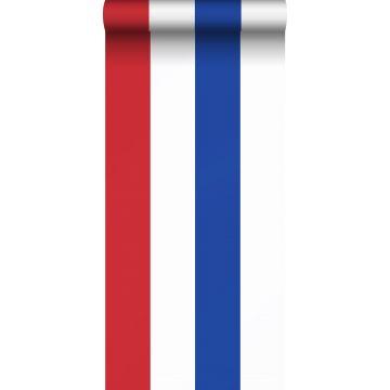 Tapete Streifen Rot, Weiß und Blau von ESTA home