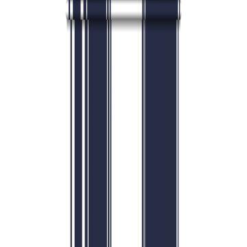 Tapete Streifen Marineblau von ESTA home