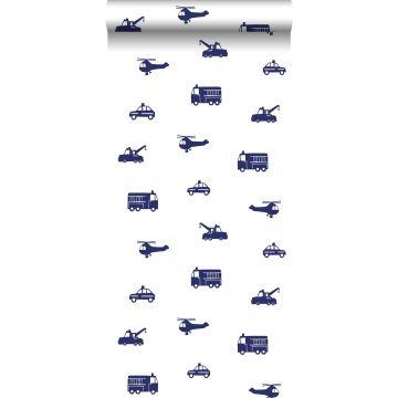 Tapete Autos Blau von ESTA home
