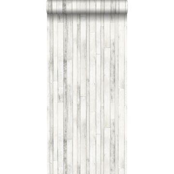 Tapete Holz-Optik Grauweiß von ESTA home