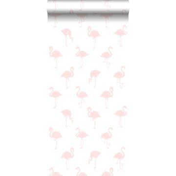 Tapete Flamingos Hellrosa und Weiß von ESTA home