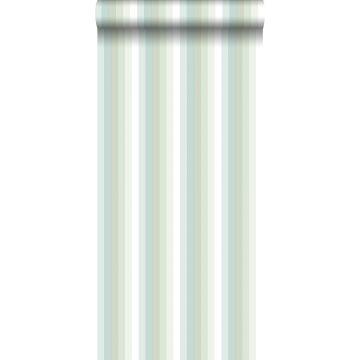 Tapete Regenbogenstreifen Mintgrün von ESTA home
