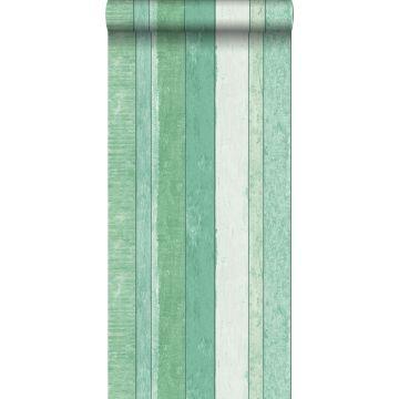 Tapete Holz-optik Grün von ESTA home