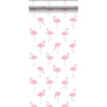 Tapete Flamingos Rosa und Weiß von ESTA home