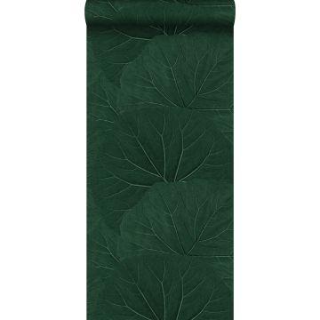 Tapete große Blätter Emeraldgrün von ESTA home
