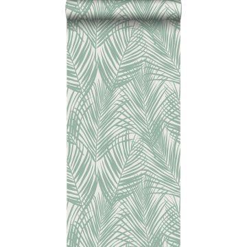 Tapete Palmenblätter Mintgrün von ESTA home