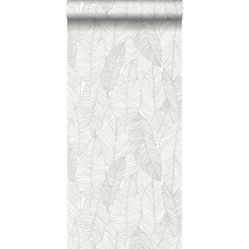 Tapete gezeichnete Blätter Beige von ESTA home