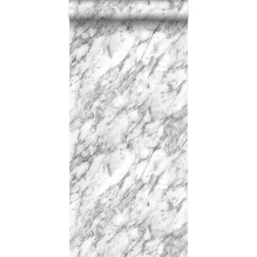 Tapete Marmor-Optik Schwarz-Weiß von ESTA home