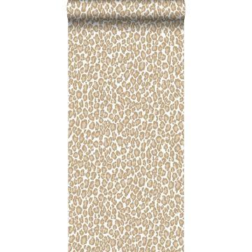 Tapete Leopardenmuster Beigebraun von ESTA home