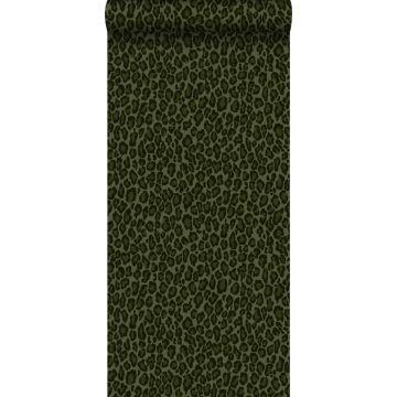 Tapete Leopardenmuster Dunkelgrün von ESTA home