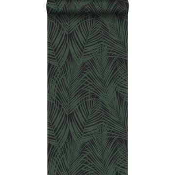Tapete Palmblätter Dunkelgrün von ESTA home