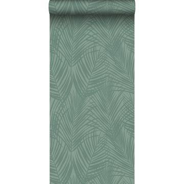 Tapete Palmblätter Graugrün von ESTA home