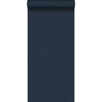 Tapete Jeans-Optik Dunkelblau von ESTA home