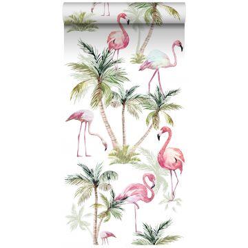 XXLVliestapete Flamingos Rosa von ESTA home