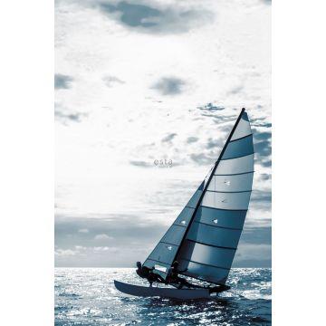 Fototapete Segelboot Blau von ESTA home