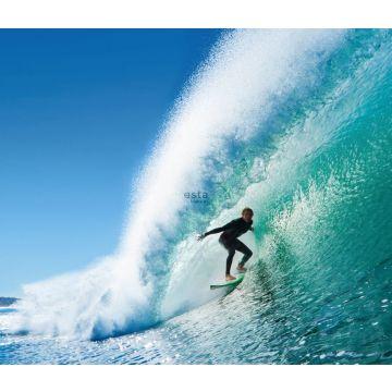 Fototapete Surfer Blau und Meeresgrün von ESTA home