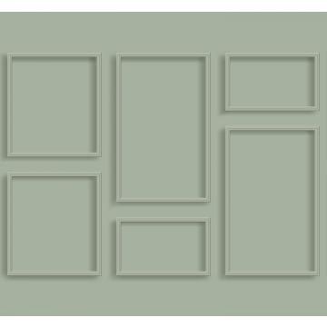 Fototapete Holz-Wandverkleidung Graugrün von ESTA home