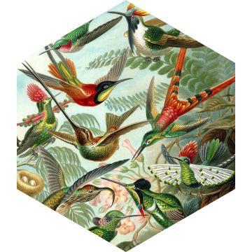 selbsklebende Wandtattoo Vögel Dschungelgrün von ESTA home