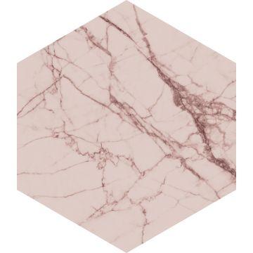 selbsklebende Wandtattoo Marmor-Optik Graurosa von ESTA home