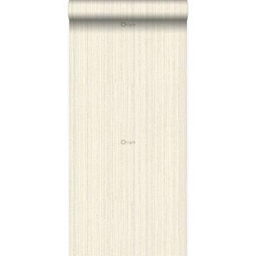 Tapete Textur Crême-Weiß von Origin