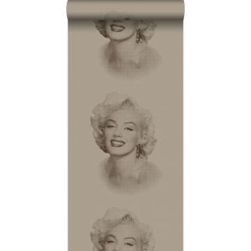 Tapete Marilyn Monroe Messing von Origin