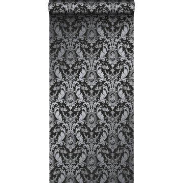 Tapete Ornamente Schwarz von Origin