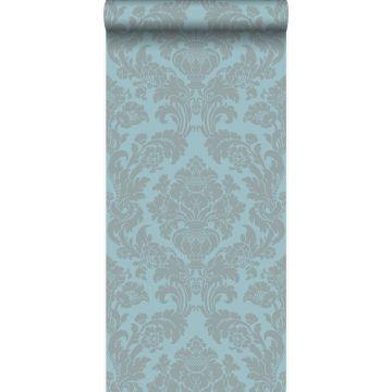 Tapete Ornamente Eisblau von Origin