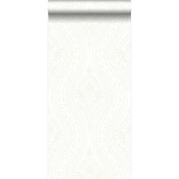 Tapete Ornamente Crême-Weiß von Origin