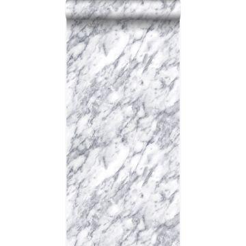 Tapete Marmor-Optik Elfenbeinweiß von Origin
