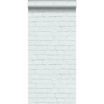 Tapete Stein-Optik Pastell Mintgrün von Origin
