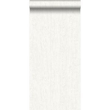 Tapete Holz-optik Crême-Weiß von Origin