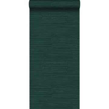 Tapete Steinoptik Smaragdgrün von Origin