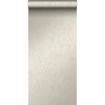 Tapete Metall-Optik Silber von Origin