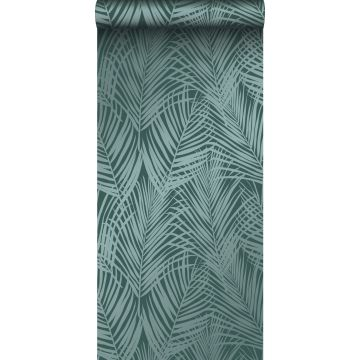 Tapete Palmenblätter Smaragdgrün von Origin