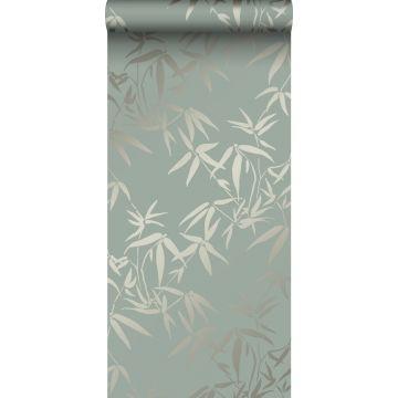 Tapete Bambusblätter Grün von Origin