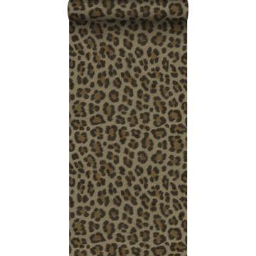 Tapete Leopardenmuster Braun und Beige von Origin