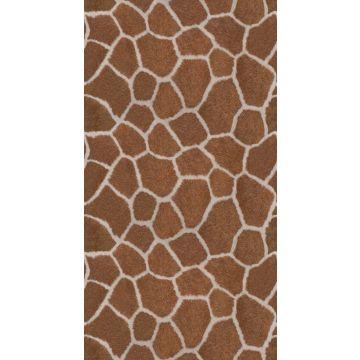 Fototapete Giraffenmuster Braun von Origin