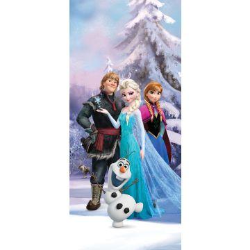 Poster Die Eiskönigin Blau, Lila und Weiß von Sanders & Sanders